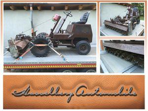 ANDERE-HATZ-Wildkrautbesen mit Stahlbürsten,Gebrauchtwagen