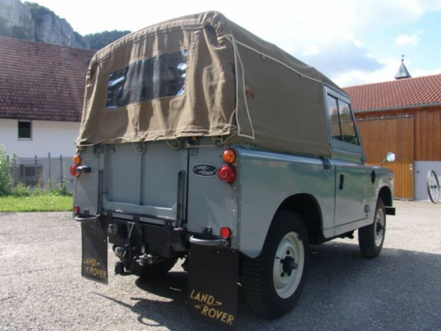 LAND ROVER Serie III 88 Soft Top