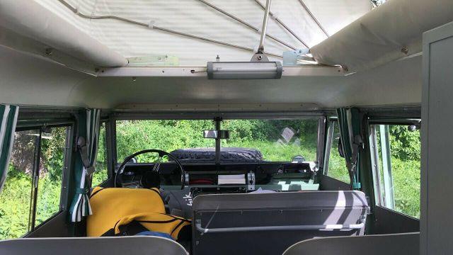 LAND ROVER Serie II 109 Dormobile