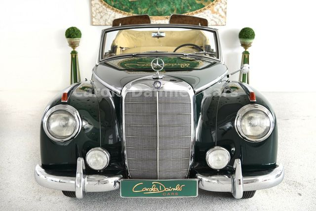 MERCEDES-BENZ 300 Cabriolet D Adenauer W186   Doku ab 1982