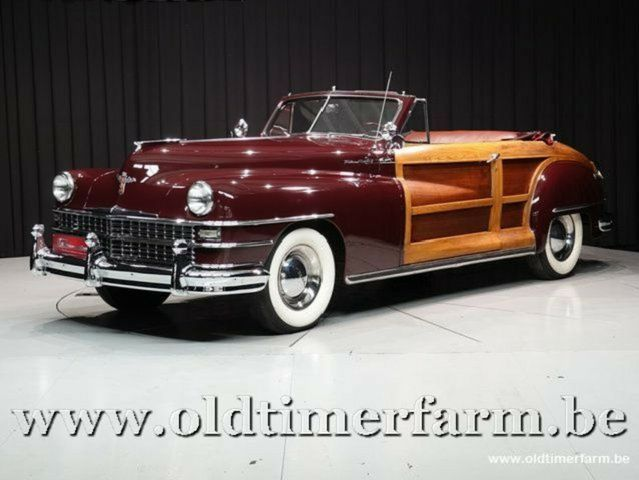 CHRYSLER Andere Town and Country 2 door Convertible '48