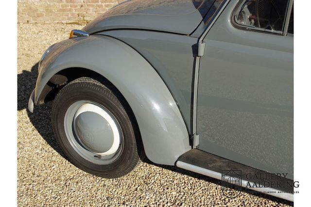 VW Beetle Oval 1200 matching numbers, full known hi