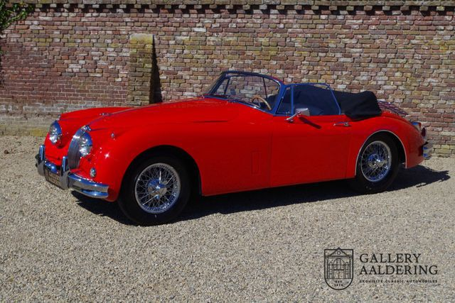 JAGUAR XK 150 DHC Matching Numbers, Power steering