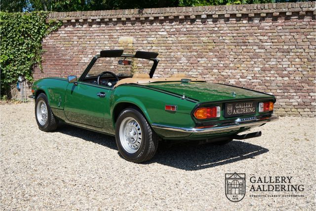 TRIUMPH Spitfire 1500 only 3.966 miles, factory new cond