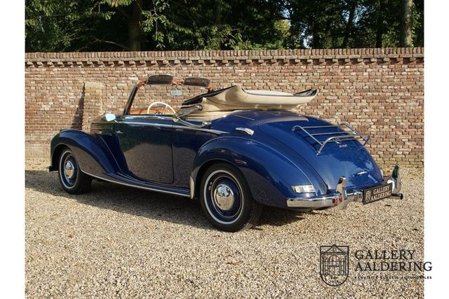MERCEDES-BENZ 220 A Convertible restored condition, only 1.