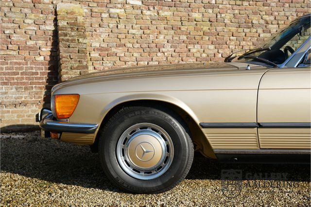 MERCEDES-BENZ 450 SL R107 only 65.422 miles
