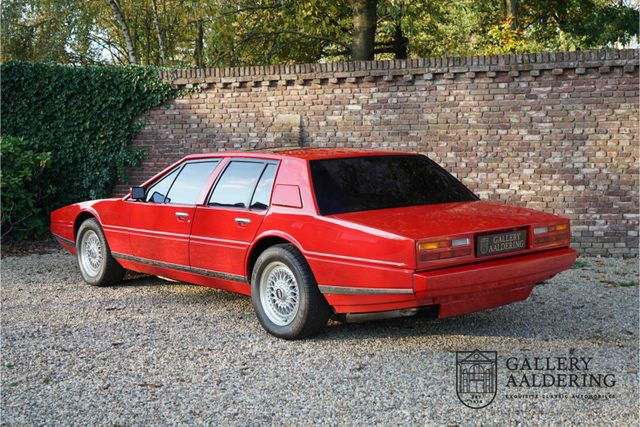 ASTON MARTIN Lagonda 4th owner, only 59.833 miles, one of onl