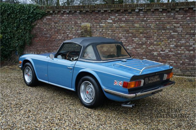 TRIUMPH TR6 First paint and fully original with only 270