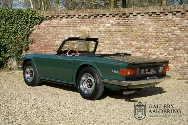 TRIUMPH TR6 PI Swiss delived, fuel injection, top restor