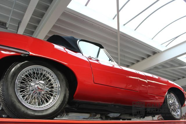 JAGUAR E-Type Series 2 open two seater, restored condit