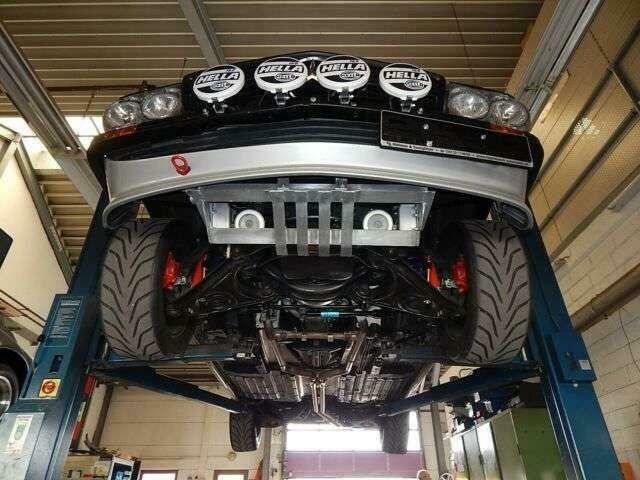 MERCEDES-BENZ 450 Rallye Umbau