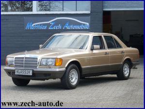 MERCEDES-BENZ 380 SE W 126 //Top Ausstattung //H- Kennzeichen