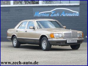 MERCEDES-BENZ S 380 W 126 // Top Ausstattung // H- Kennzeichen