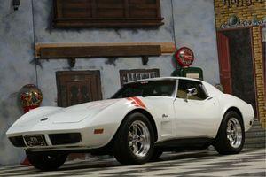 CORVETTE Corvette C3 Targa Chrome Model / Incl. Belgische