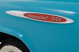 CHEVROLET 3100 Pick up Truck Frame Off Restoration