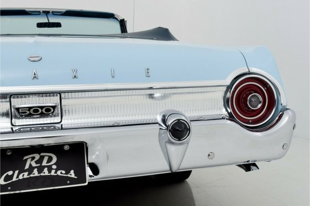 FORD Galaxie 500 Sunliner Convertible