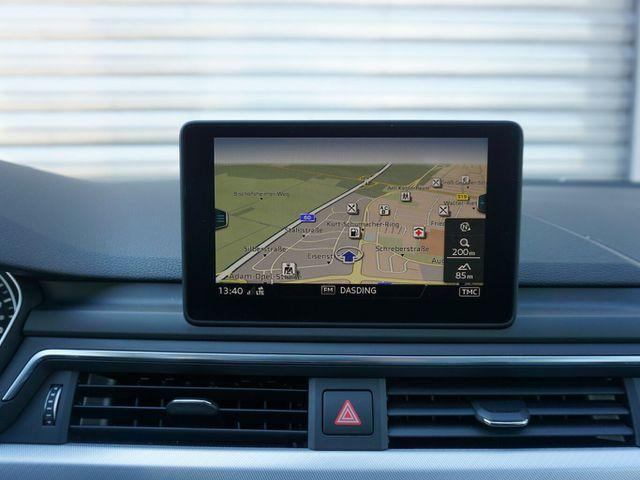 AUDI A4 2.0 TDI Xen Leder Navi/MMI PDC Alu18