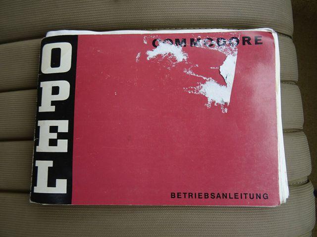 OPEL Commodore A GS