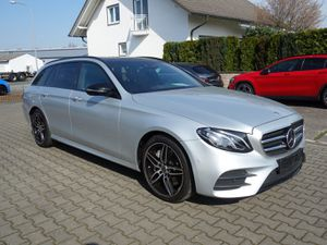 MERCEDES-BENZ E 350 d T AMG Line, Panoramadach, Standheizung, Distronic, Night Paket