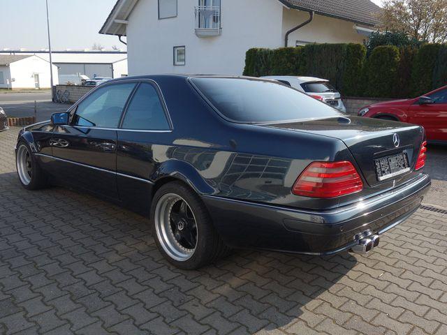 MERCEDES-BENZ S 420 Coupe Mariani Umbau, Speedline Felgen