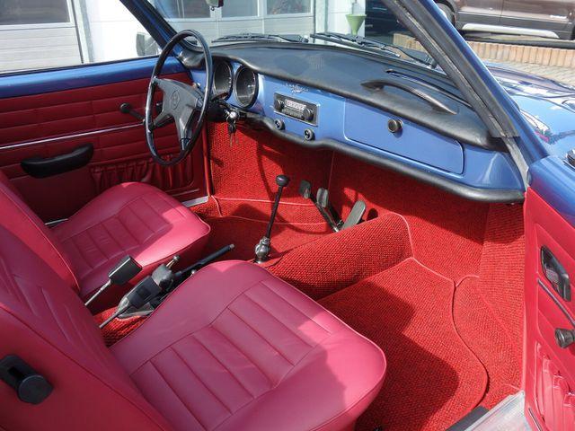 VW Karmann Ghia Cabrio vollständig restauriert