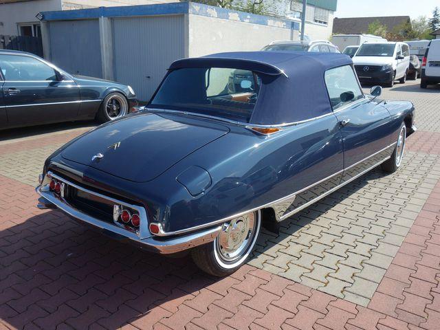 CITROEN DS 20 Cabriolet im Neuwagenzustand