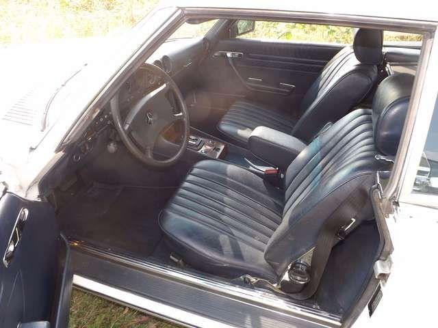 Mercedes-Benz 380 SL sogar noch im Erstlack und unfallfrei !
