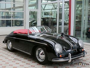 PORSCHE 356 A 1600 Speedster Matching Numbers