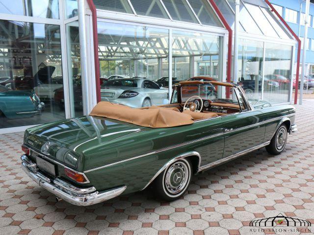 MERCEDES-BENZ 220 SE b Cabrio sh.schön,restauriert,top