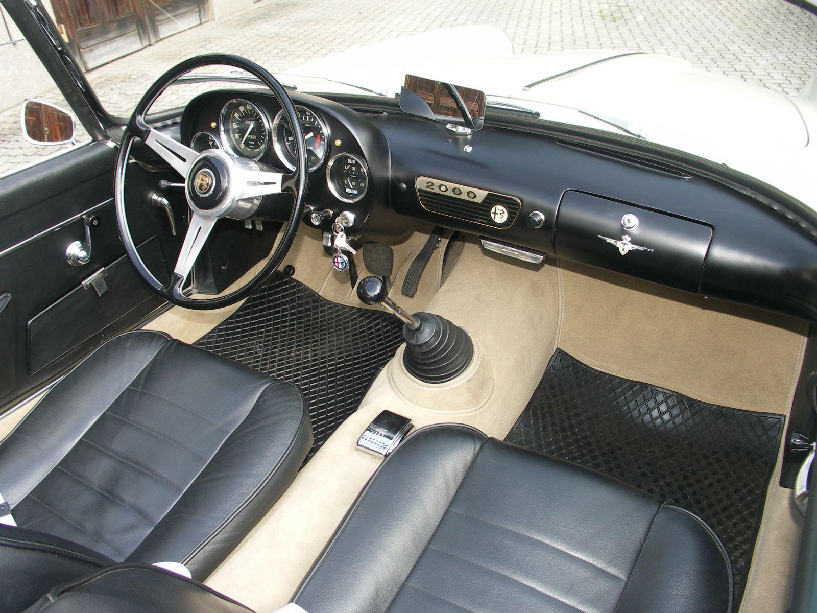 Alfa Romeo Spider 2000 Touring