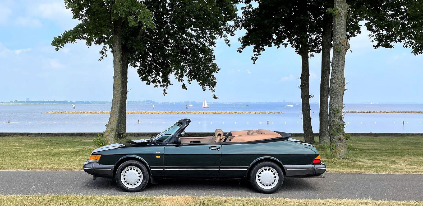 Saab 900 Classic turbo klima neues Stoffdach