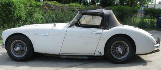 Austin Healey 3000 für die Restaurierung
