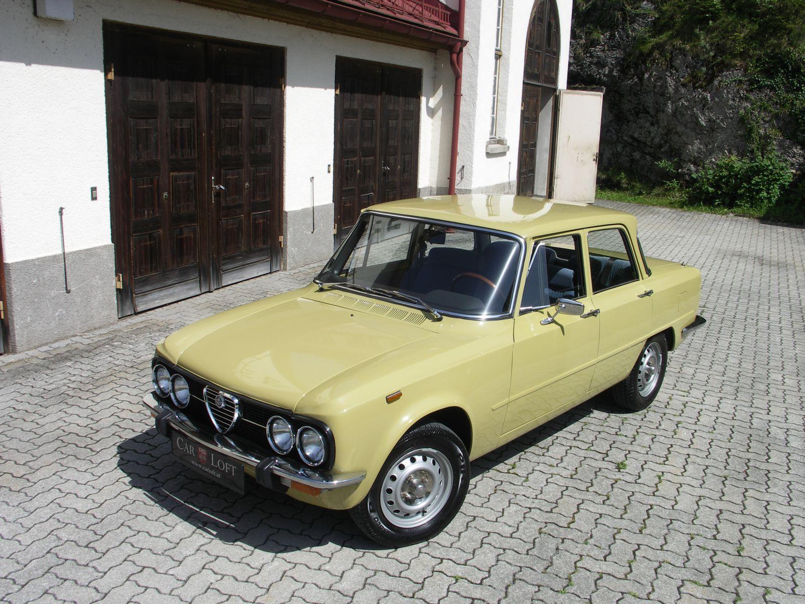 Alfa Romeo Giulia Nuova Super 1300