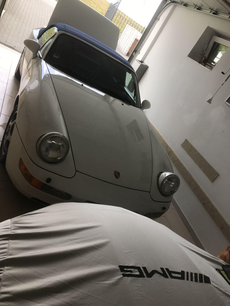 Porsche 968 Cabrio Gran Prix weiß,H Kennzeichen